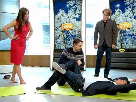 Prévention des maux de dos: doit-on plier les genoux lorsqu'on se penche?