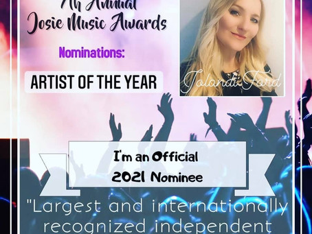 Josie Music Award 2021 Nominee Jolandi Ford