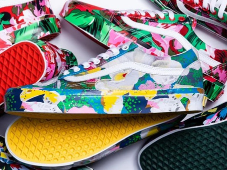 Vans teams with KENZO for a new collection