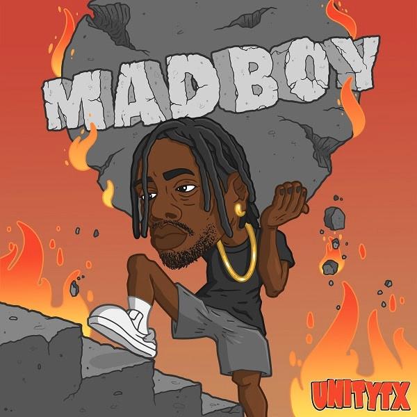 Unitytx - 'Madboy' EP artwork