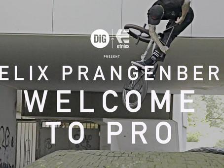 Felix Prangenberg is now pro for Etnies!