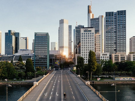 Bruno Hoffmann explores empty Frankfurt in 'Solitude'