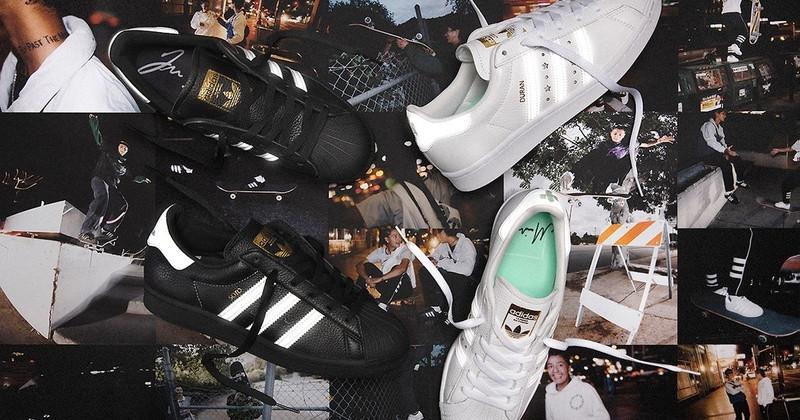 Jenn Soto and Mariah Duran adidas Superstars