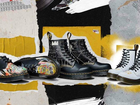Dr. Martens announce new Basquiat-inspired collection