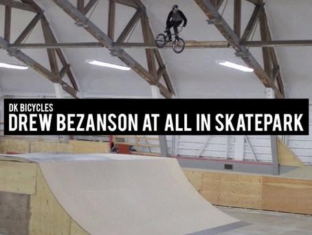 Drew Bezanson destroys All In Skatepark in his new video for DK