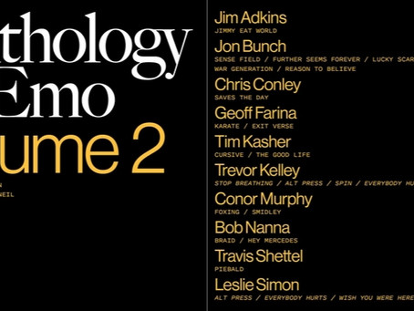 'Anthology of Emo Volume 2' book is coming out this September