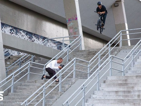 Dennis Enarson and Vans drop 'Right Here'