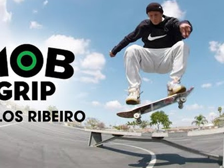 Carlos Ribeiro takes advantage of an empty LA in a new MOB Grip clip