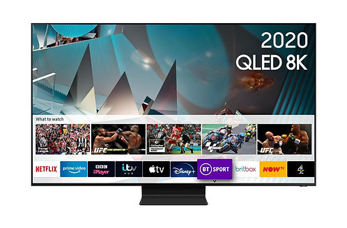 Samsung QE75Q800T-75 inch QLED 8K HDR 2000 Smart TV with Freesat HD