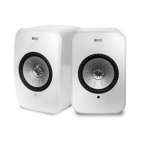 KEF LSX Wireless Music Speakers Gloss White