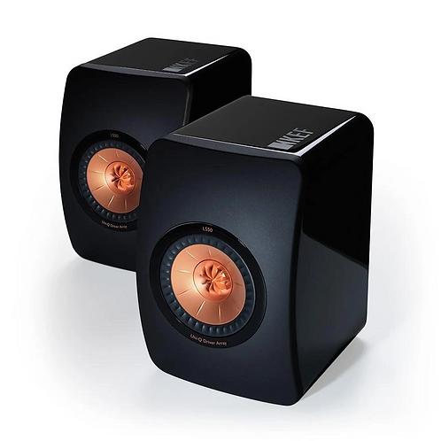 KEF LS50  Bookshelf Speakers Gloss Black