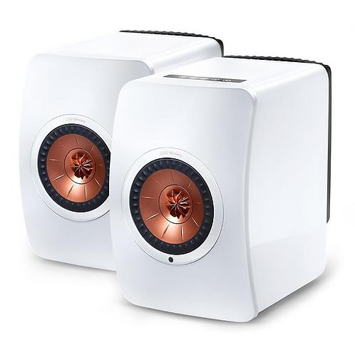 KEF LS50 Wireless Wireless Speakers White