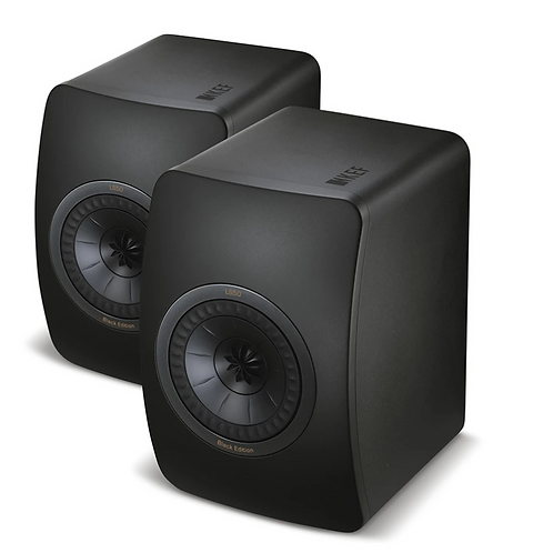 KEF LS50 Bookshelf Speakers Matt Black