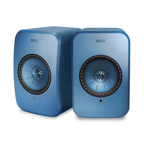 KEF LSX Wireless Music Speakers Blue