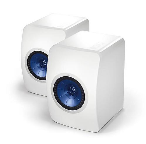 KEF LS50 Bookshelf Speakers Gloss White