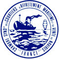 logo de la Chambre Syndicale des Courtiers d'Affrètement Maritime et de Vente de navires de France-French shipbrokers association