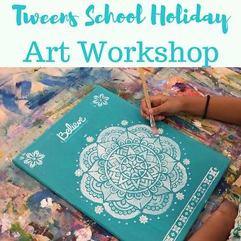 Tweens School Holiday Art Workshops