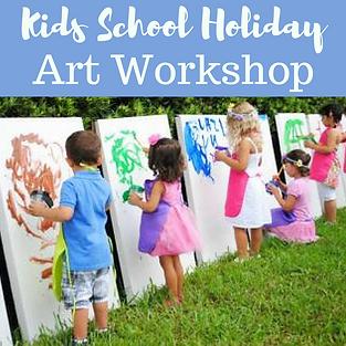 Kids School Holiday Art
