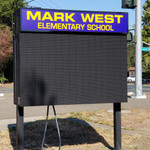 Mark West Elementary School LED Display Sign