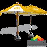 Custom-Printed Umbrellas