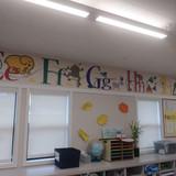 St. Rose Preschool Alphabet Mural
