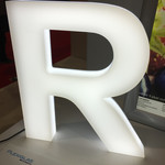 Acrylic Letter with LED lighting