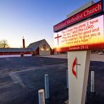 Sample Church Sign