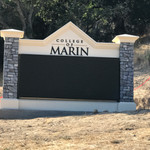 College of Marin LED Display Sign