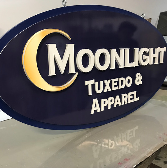 """CNC Routed 1/2"""" Thick Acrylic Letters"""