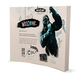 10' Curved, Velcro, Fabric Pop-Up Display