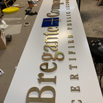 Laser Cut Acrylic Letters and Logo