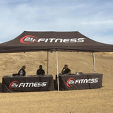 Custom 20' x 10' Canopy and Table Covers