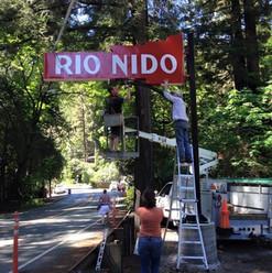 Rio Nido Sign