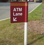 Aluminum Round Post Sign