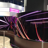 LG OLED Curved Video Wall