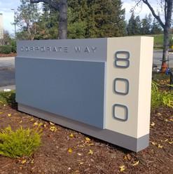 Aluminum Monument Sign Cabinet