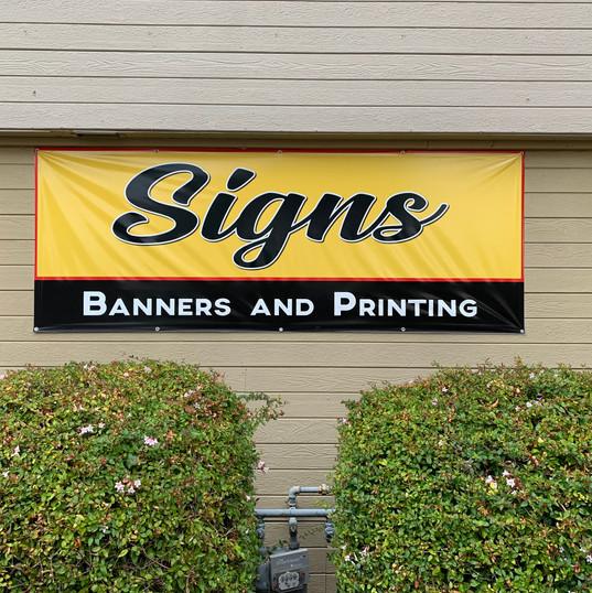 Econoline Signs Building Banner