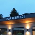 Marketplace Brushed Aluminum Letters