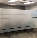 Etched Privacy Panels