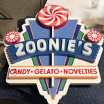 CNC Routed Dimensional High Density Urethane Sign with Acrylic Letters