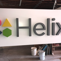 """4"""" Thick, High-Density Urethane Letters"""