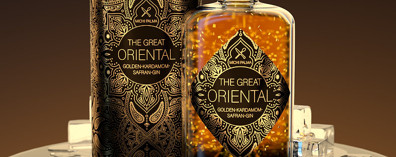 THE GREAT ORIENTAL Gin