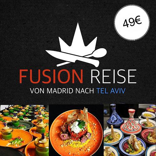 12.12. // FUSION Reise Madrid Tel Aviv