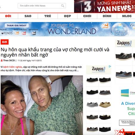Article in Vietnamese news