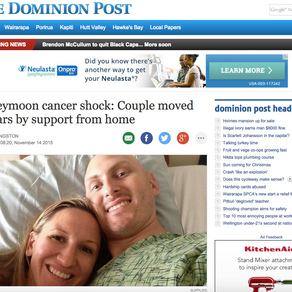 """Dominion Post Article - """"Thank You!"""""""