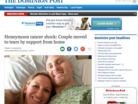 "Dominion Post Article - ""Thank You!"""