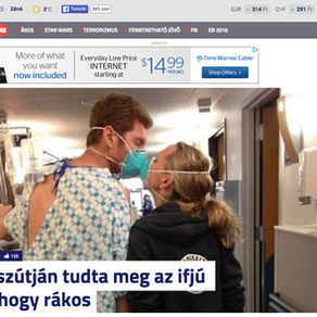 Article in Hungarian news