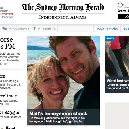 Sydney Morning Herald Article