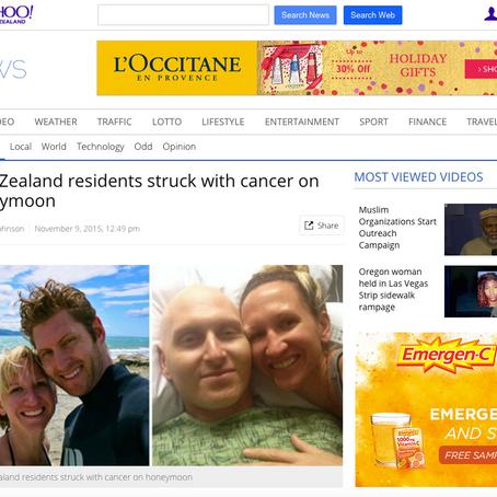 Yahoo! NZ News Article