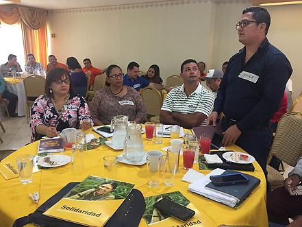 TALLER PARA OPERACIÓN DEL ACUERDO DE VOLUNTADES PARA LA CERO DEFORESTACION EN LA CADENA DE ACEITE DE PALMA DE HONDURAS